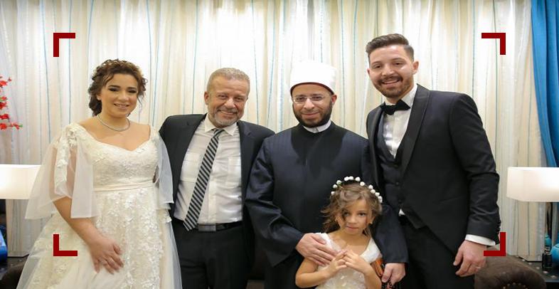 بالفيديوهات والصور| زواج أسما شريف منير ومحمود حجازي