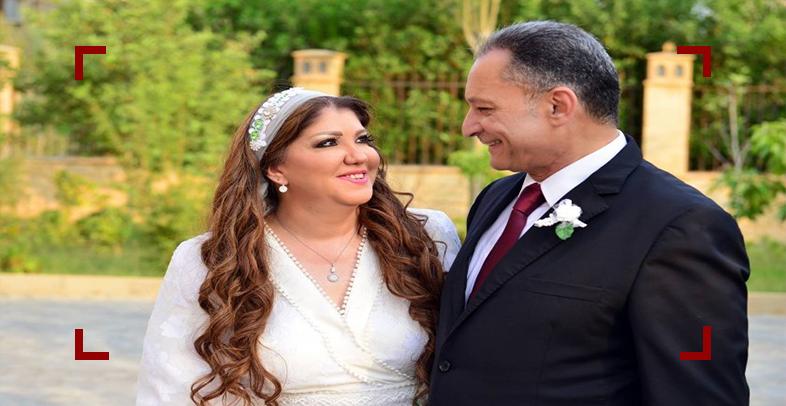 زواج رولا خرسا بشكل مفاجئ بحضور عدد كبير من الإعلاميين